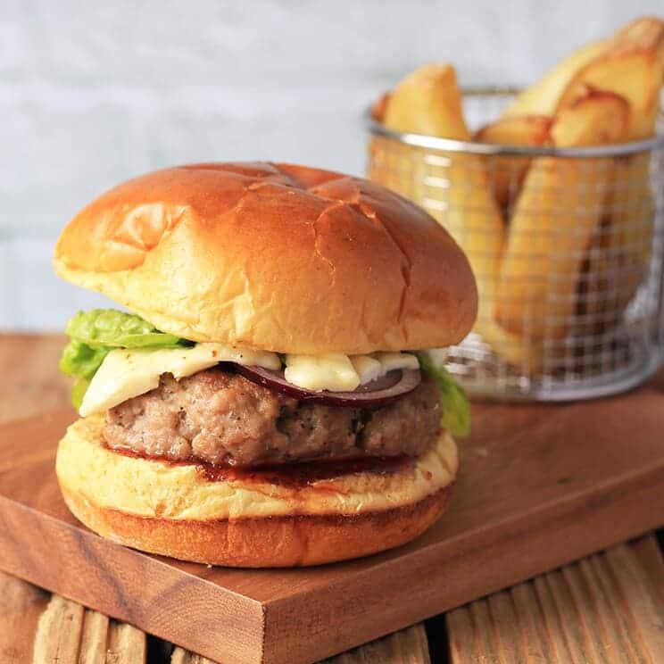 Wiltshire Chilli Farm - Pork Burger